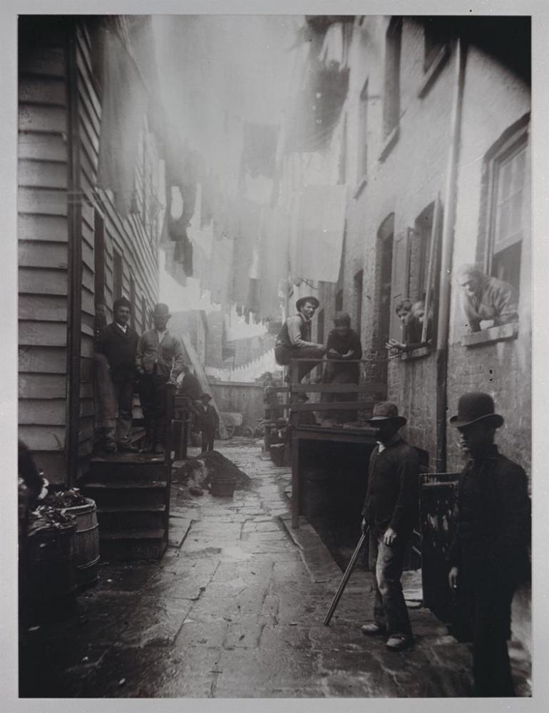 Bandit's Roost, by Jacob Riis, 1888