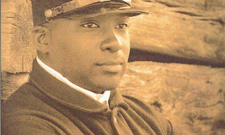 A sepia-colored image of black Union soldier Angus August Burleigh