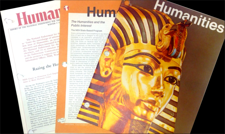 Early issues of Humanities Magazine