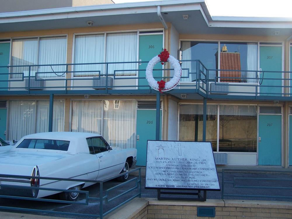 The Lorraine Motel, site of assasination of Dr. Martin Luther King, Jr.