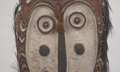 Indigenous mask from Papua New Guinea