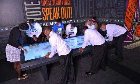 Join the Movement interactive display- National Civil Rights Museum