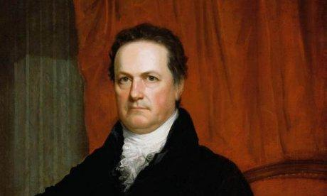A painting of Dewitt Clinton.