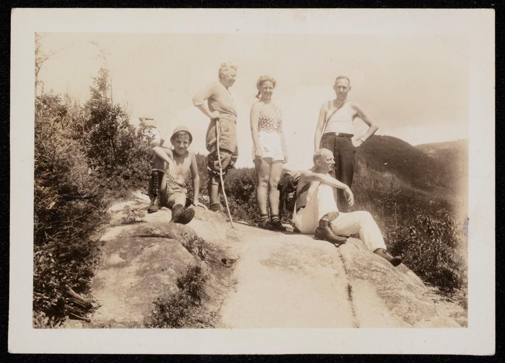 On the Old Bridle Path, Mount Lafayette, NH 1937.
