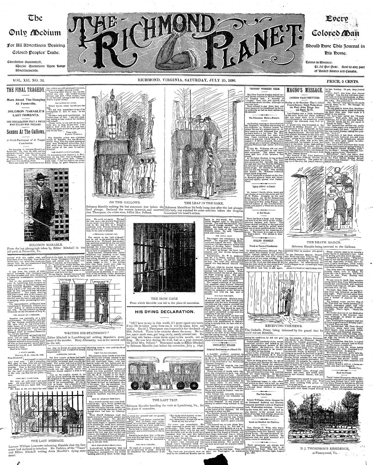 scan of Richmond Planet newspaper