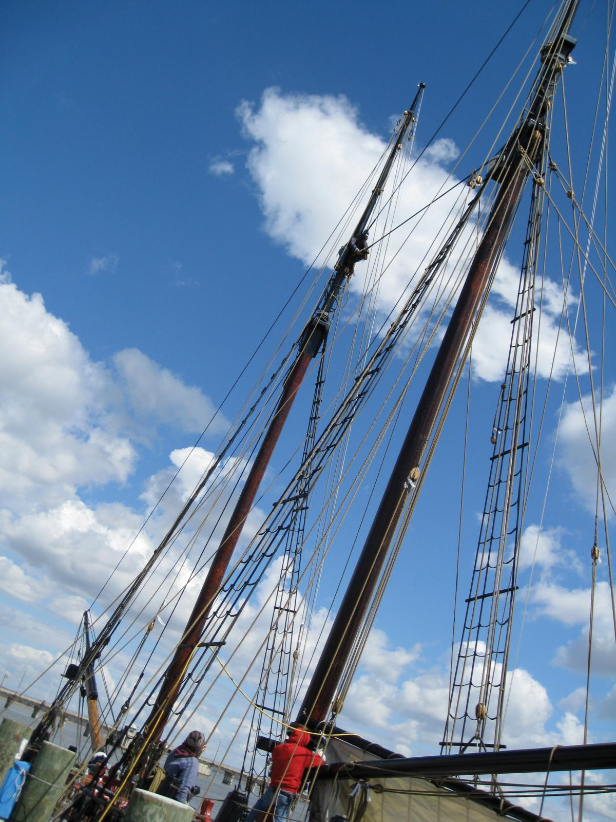 Photograph of schooner boat