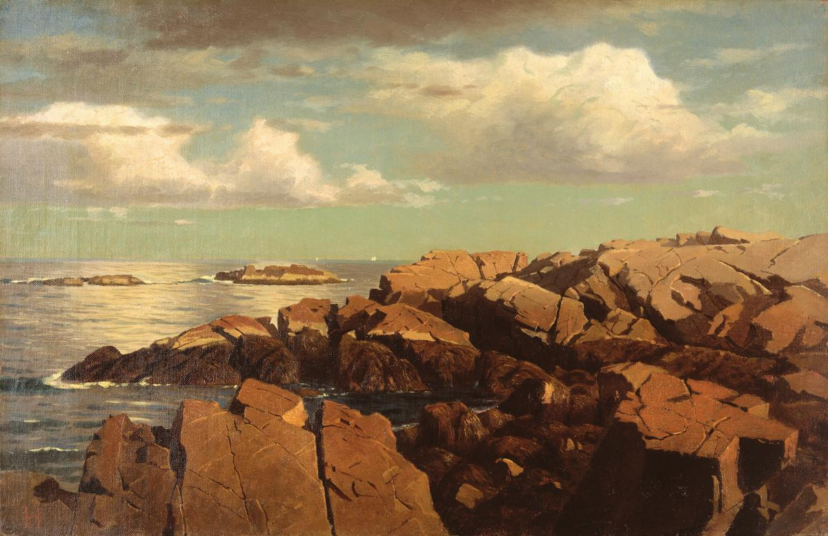 Painting of a Massachusetts Bay
