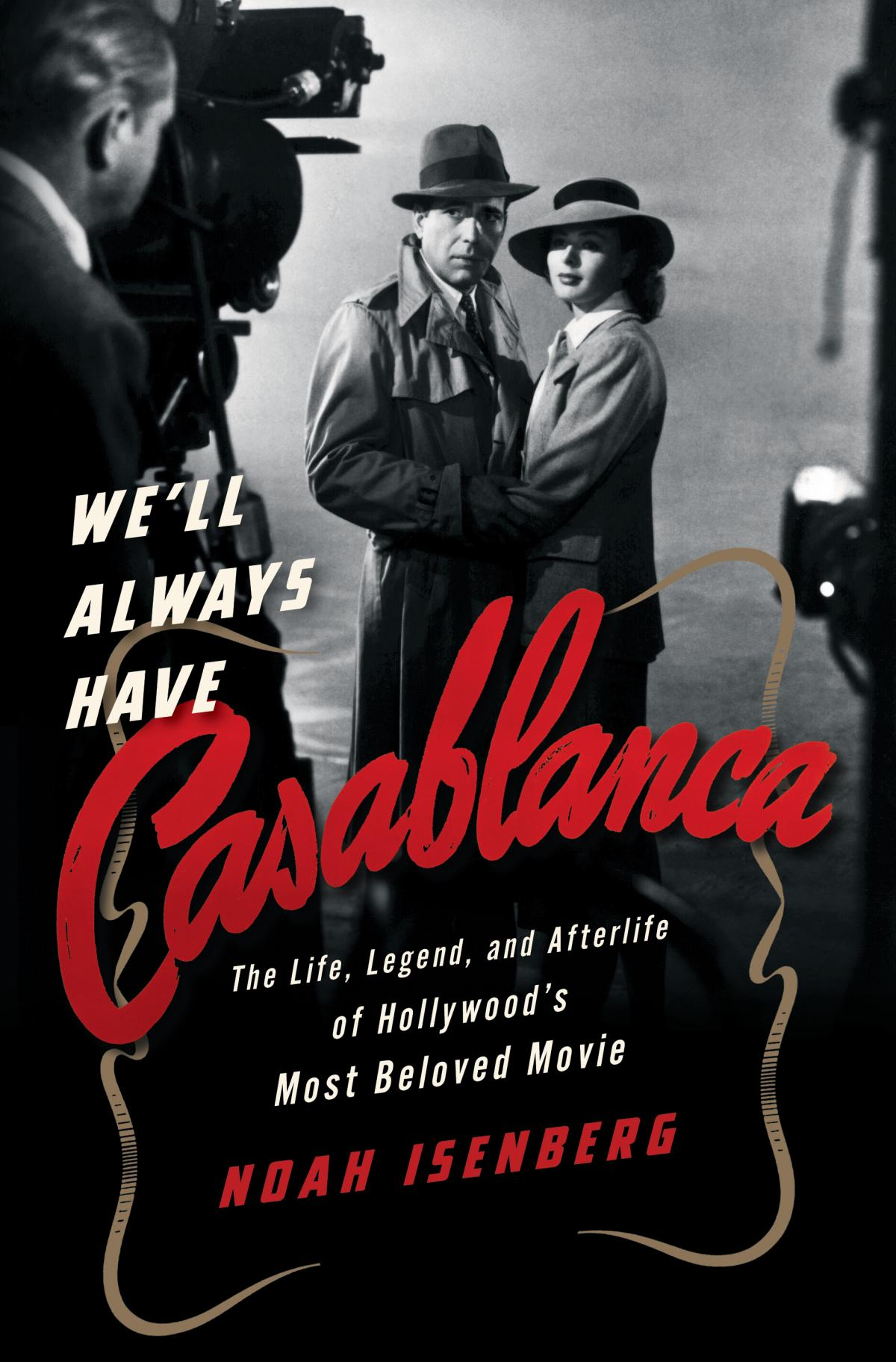 "Cover of book ""we'll always have Casablanca"""