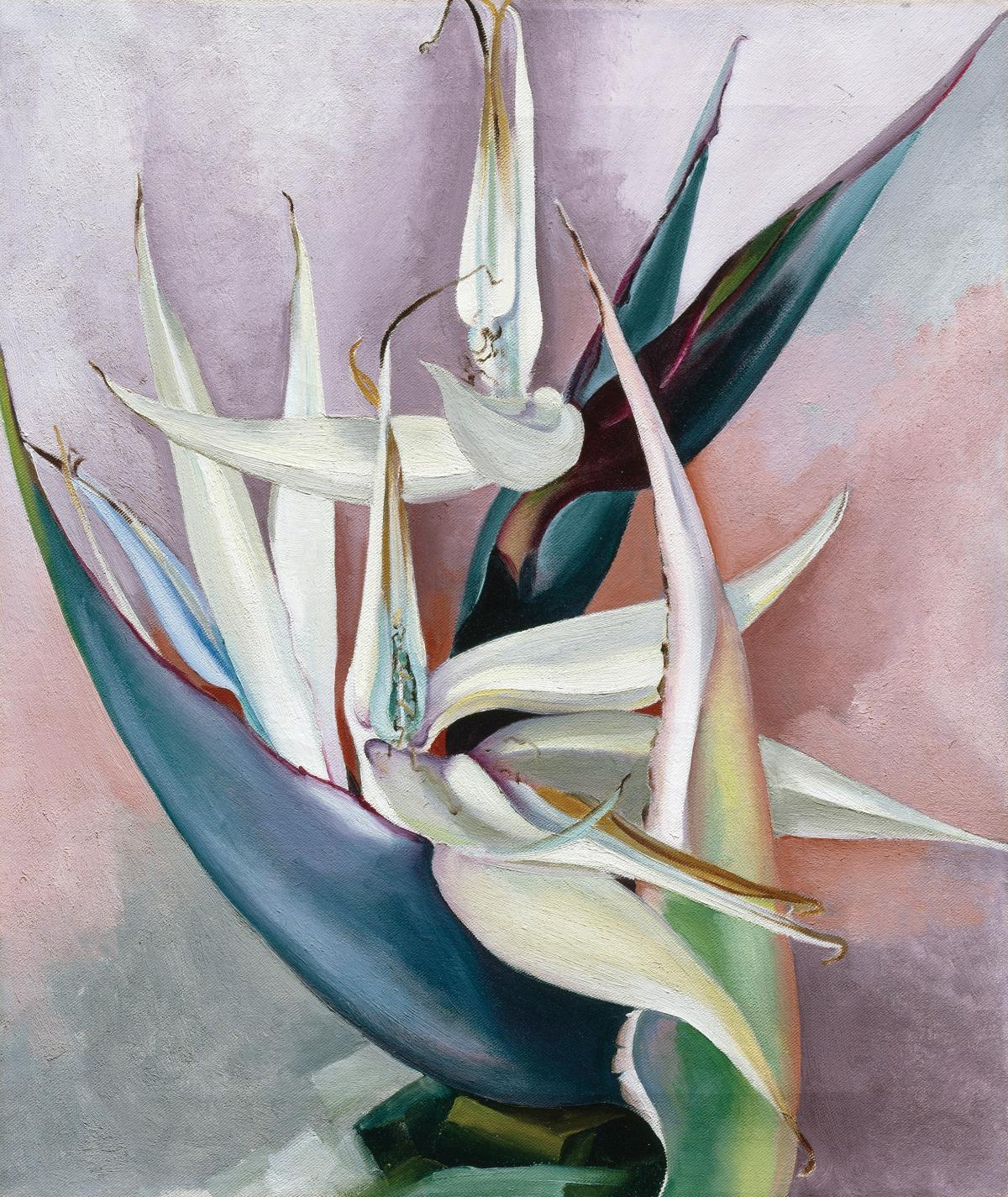 White Bird of Paradise, 1939, by Georgia O'Keeffe