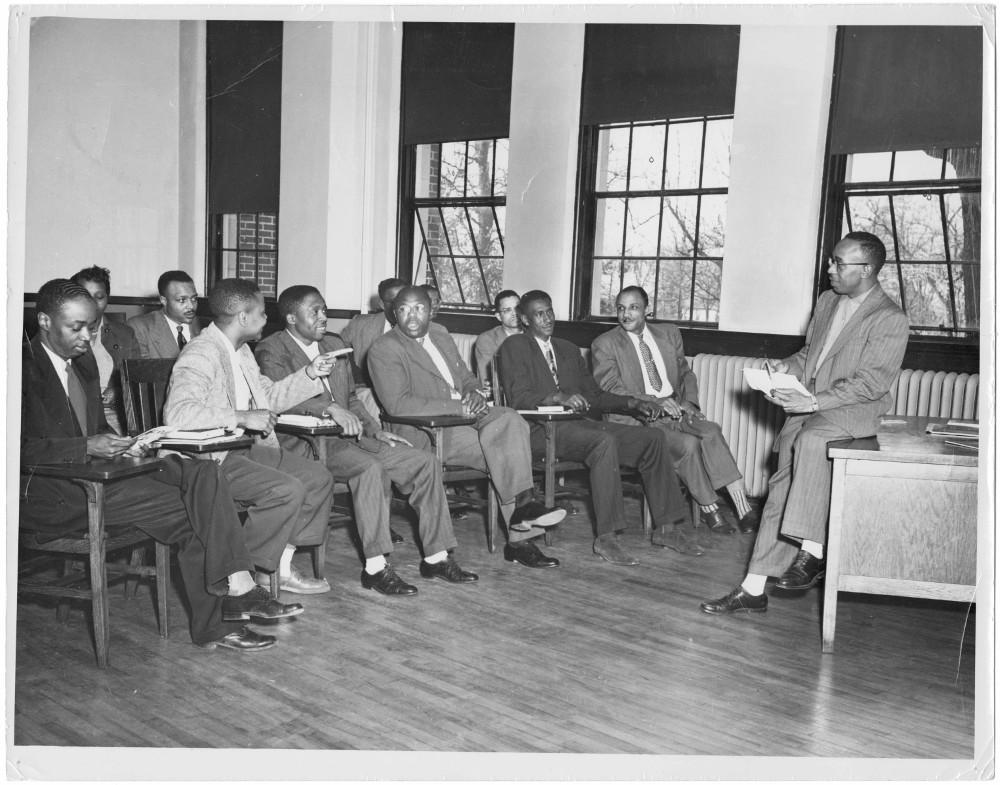 """Classroom Scene"" (circa 1950). Interdenominational Theological Center"