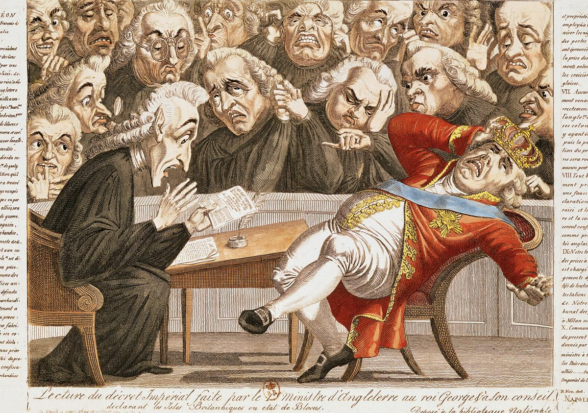 George III political cartoon
