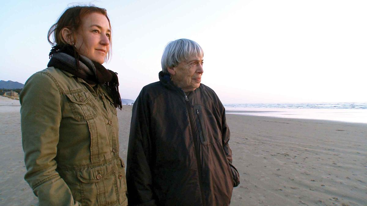 Curry and Le Guin at Canon Beach