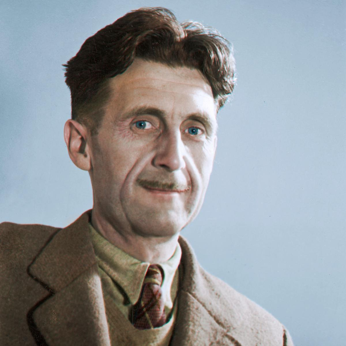 George Orwell portrait