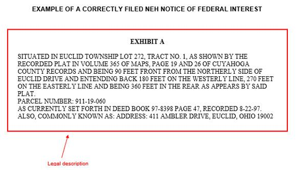 Notice of Federal Interest 2