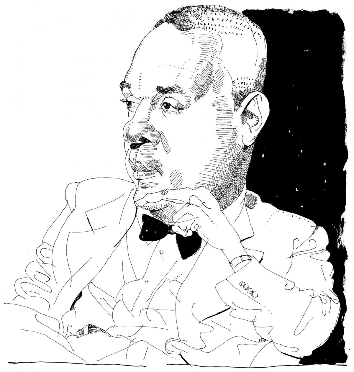 Illustration of Richard Wright