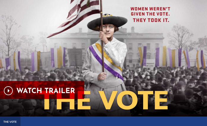 The Vote, American Experience watch trailer