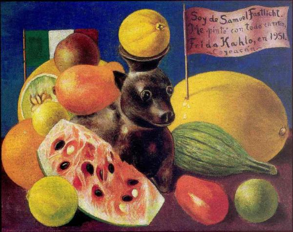 Frida Kahlo, Still Life [ for Samuel Fastlicht], 1951.