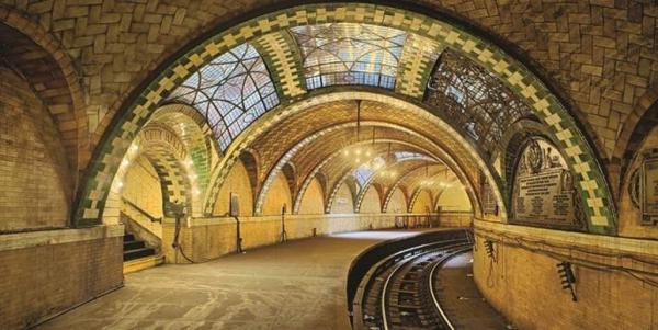 Guastavino tile vaults at City Hall Subway Station