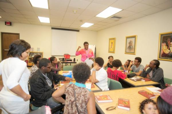 Pearl Bailey Youth Program -Teen Book Club Meeting