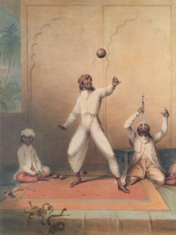 The Indian Jugglers, Green, J. (19th century