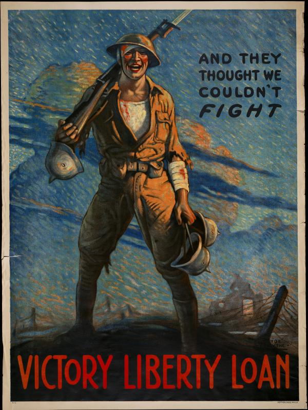 Poster advertising the Victory Liberty Loan