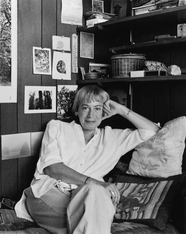 Le Guin at home
