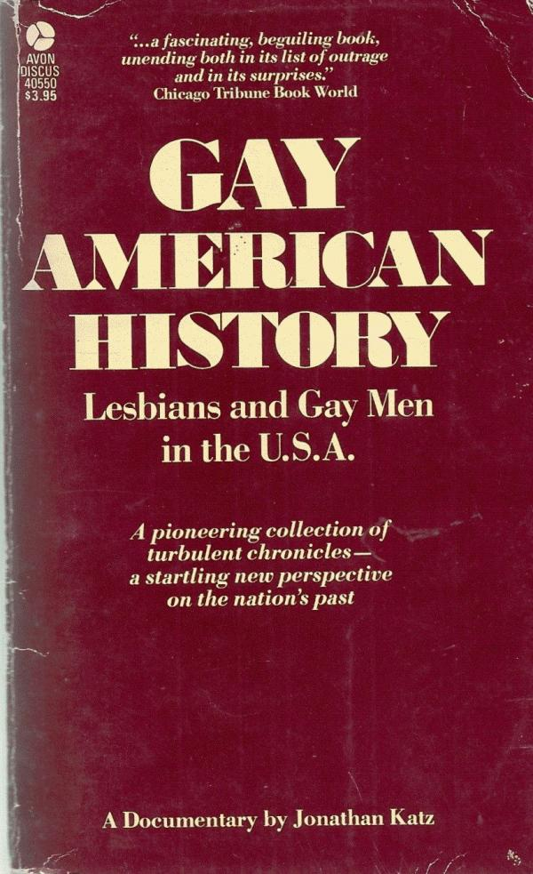 Cover of Gay American History