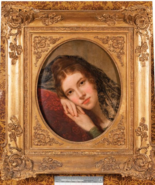 Portrait of Fanny Appleton.