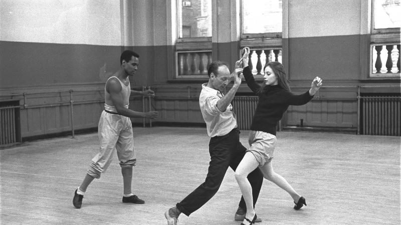 George Balanchine rehearses Slaughter on Tenth Avenue with Suzanne Farrell