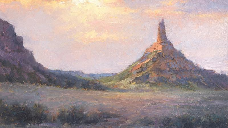 Chimney Rock—Morrill County, 2014, by Todd A. Williams