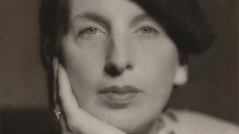 Kay Boyle portrait by Man Ray
