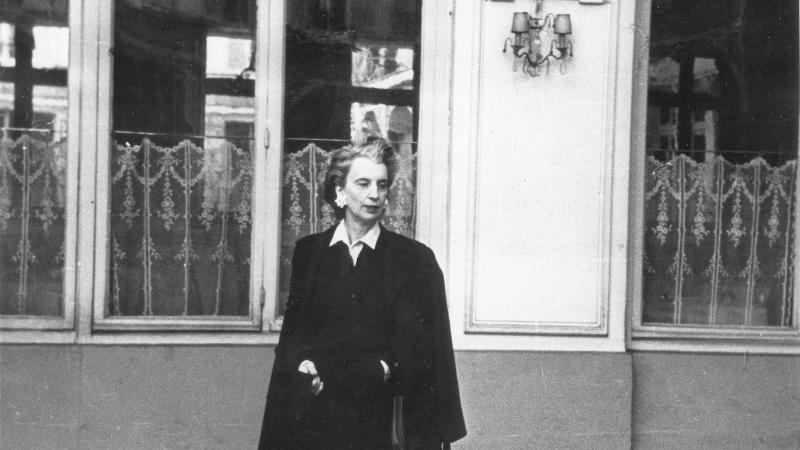 Kay Boyle in Paris,1946.