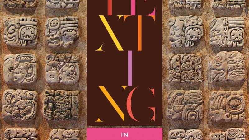 Texting in Ancient Mayan header image