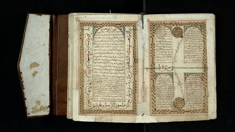 Scan of a medieval Muslim prayer text