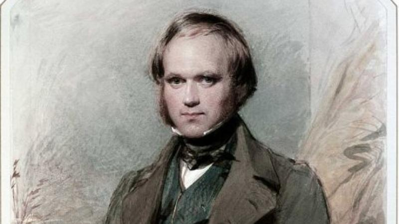 Charles Darwin - portrait by George Richmond, 1840.