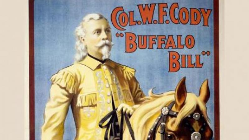 Poster, Col. Wm. F. Cody, Buffalo Bill
