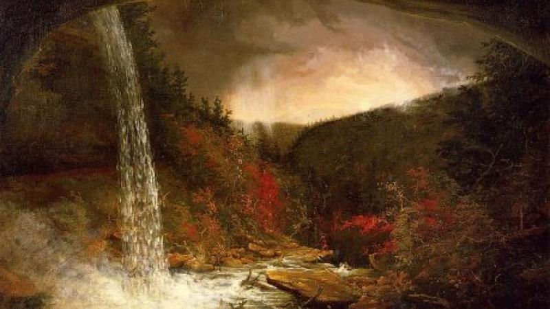 Kaaterskill Falls by Thomas Cole, 1826