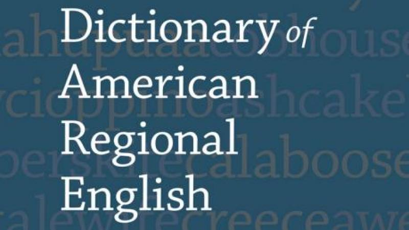 Dictionary of American Regional English, volume 1, cover
