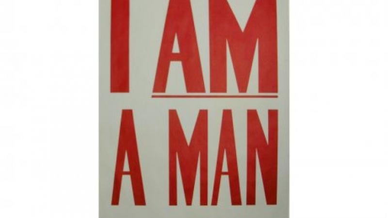 I Am A Man poster, 1968, Emerson Graphics