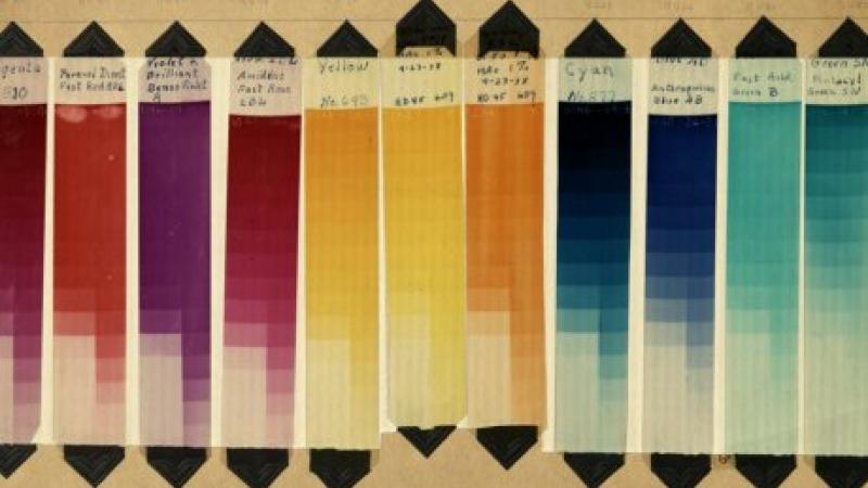 George Eastman Museum Technicolor dyes