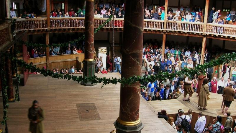 The Globe Theatre, London.
