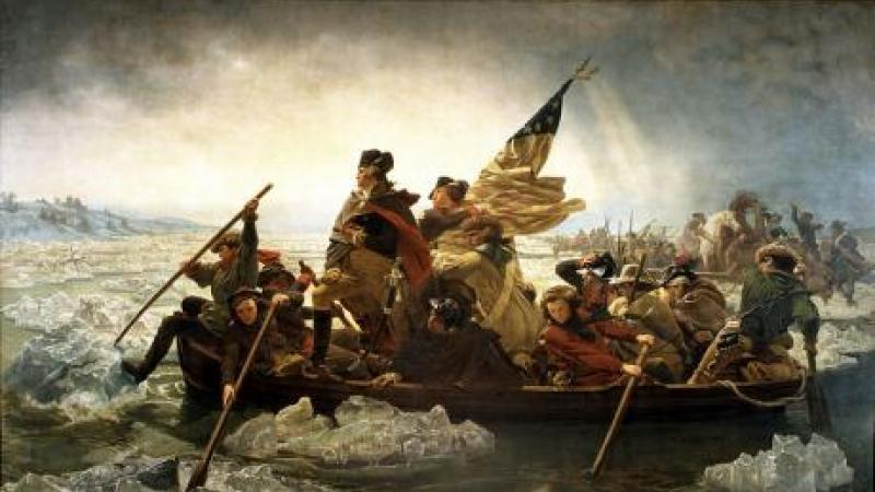 Washington Crossing the Delaware, Emmanuel Gottlieb Leutze