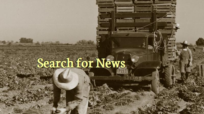 Historical Agricultural News web site