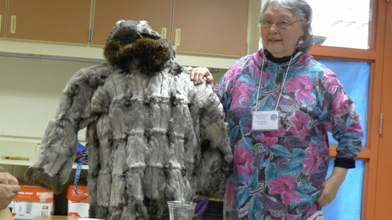 Bird skin parka processed with collections kits