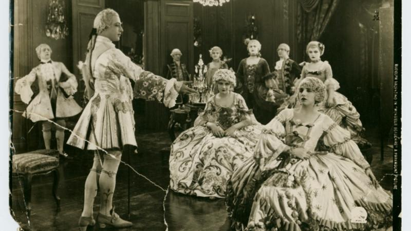 Film still, Monsieur Beaucaire, 1924. Gift of Joy Cartier.