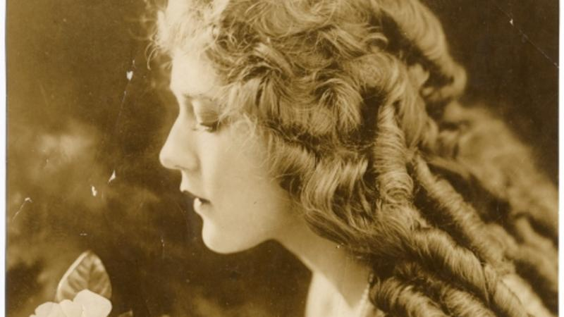 Portrait, Mary Pickford, undated. Bequest of Robert J. Devenney.