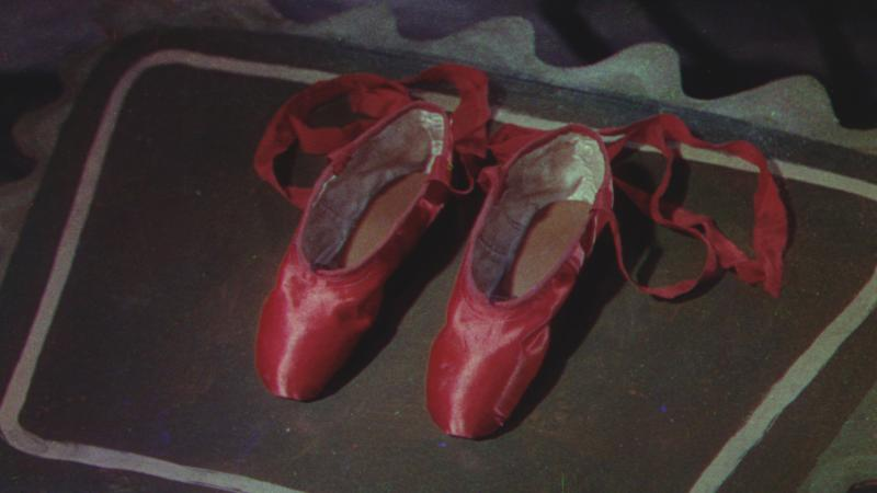 Stage 2 in restoration of this still from The Red Shoes