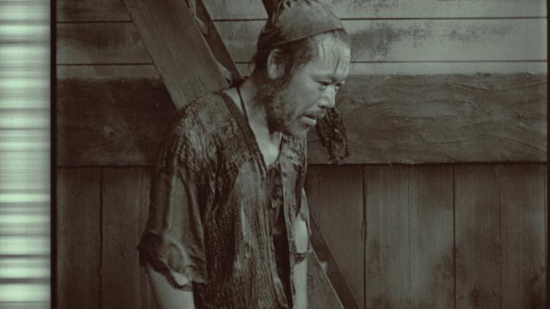 Japanese man, distraught, post restoration