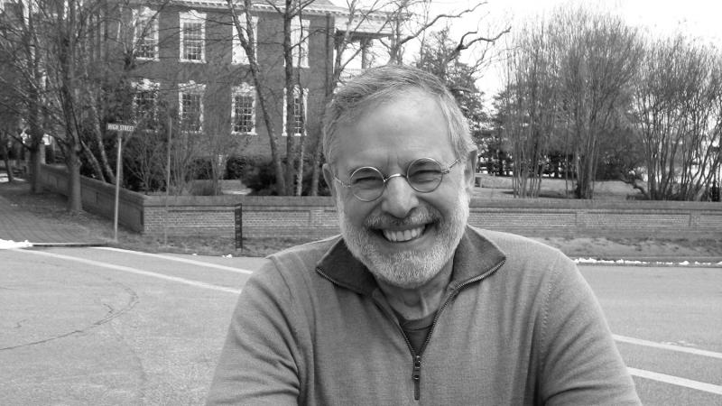 Black and white photo of author Neal Gabler.