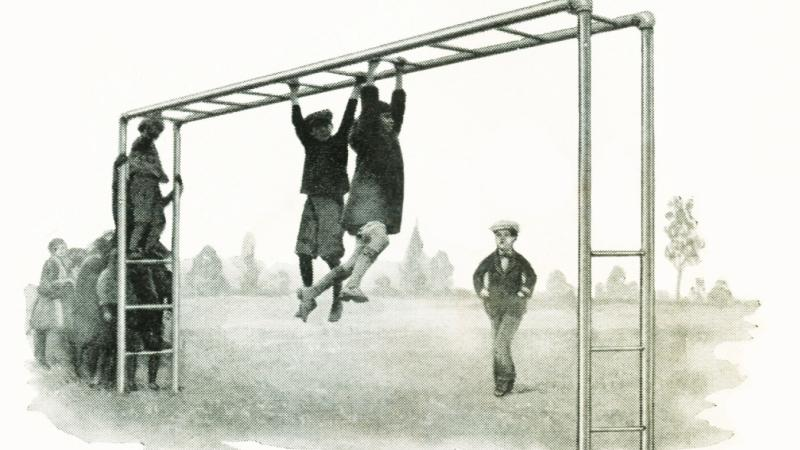 Junior Horizontal Ladder, 1931.